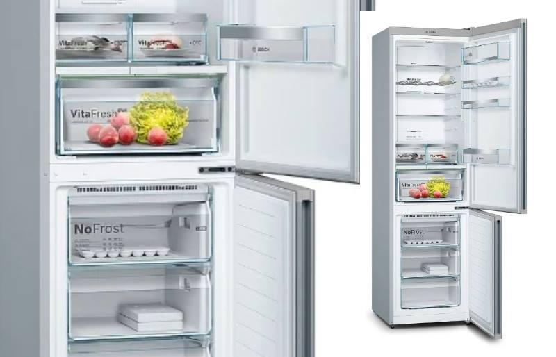 холодильник бош изнутри