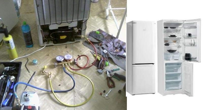 для ремонта кнопки включения и отключения света в холодильнике;
